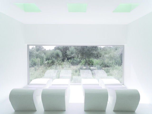 Pool & Spa at Hotel Castell dels Hams by A2arquitectos - News - Frameweb