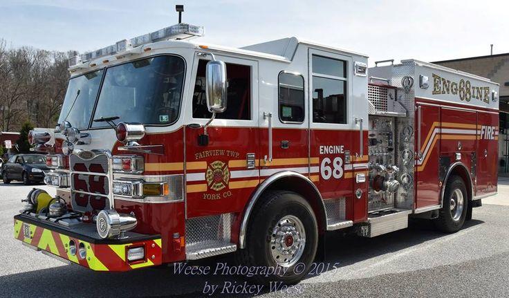 Fairview Twp York County Station 68 Pennsylvania Engine
