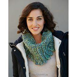 Gehaakte kraag Love Wool plus