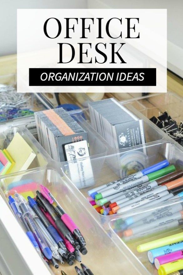 13 Smart Home Office Organization Ideas For You Desk Organization Office Desk Organization Desk Accessories Office