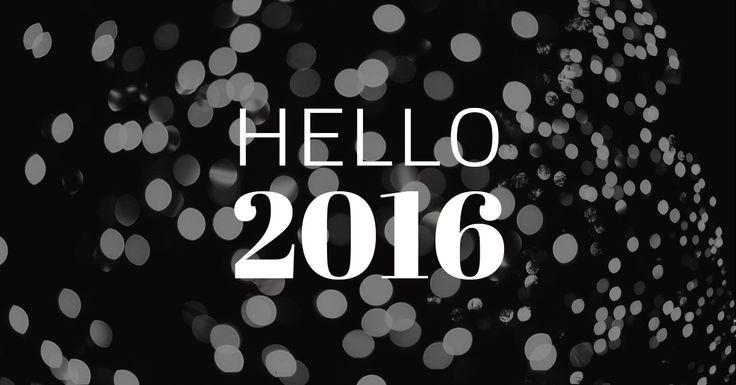 Der Countdown läuft und das alte Jahr ist bald Geschichte. Sagen wir Hallo zu 2016 -  365 new days, 365 new chances.  In diesem Sinne euch allen von ganzem Herzen einen guten Rutsch.