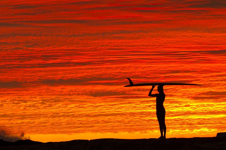 """World Surf League on Twitter: """"Fire sky mornings #GoldCoast 