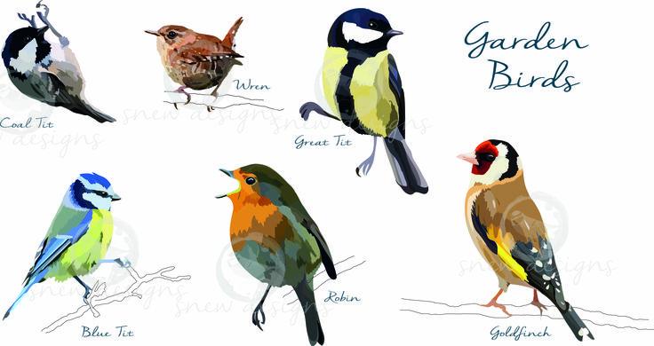 Garden Birds snewdesigns
