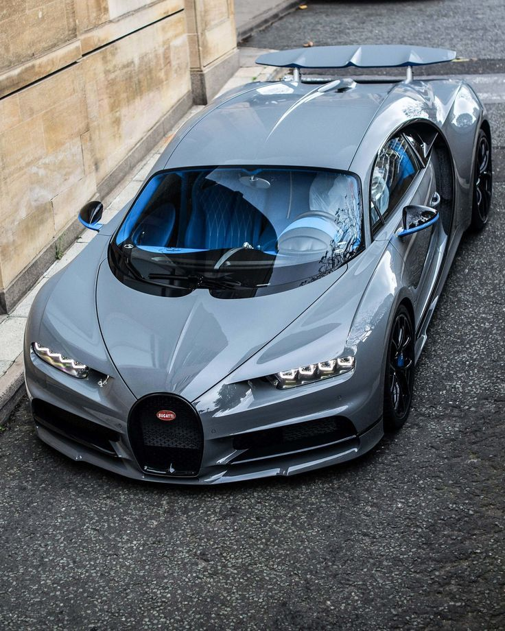 Bugatti Chiron is the fastest and most powerful supercar in BUGATTIs