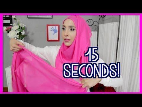 15 SECOND HOOJAB STYLE! | Amenakin - YouTube
