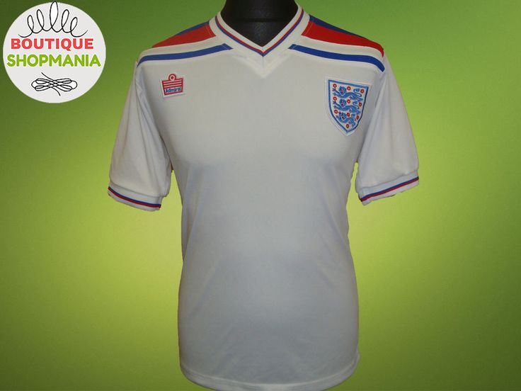 ENGLAND National HOME 1980-1983 (S) Retro Replica FOOTBALL SHIRT Jersey Camisa #na #England