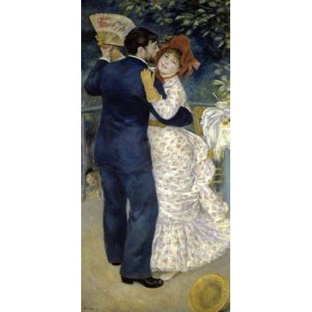 Dance in the Country Canvas Art - Pierre-Auguste Renoir (24 x 48)