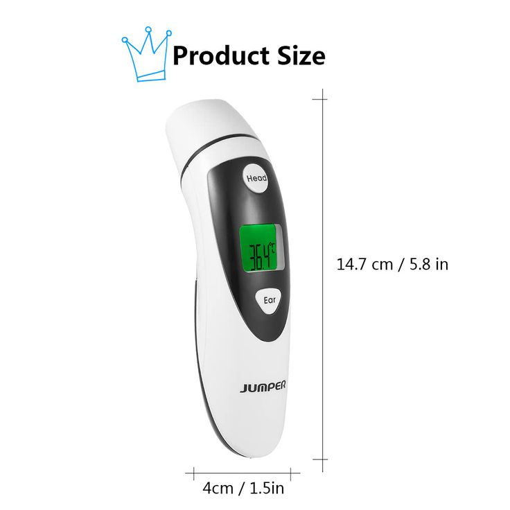 Jumper Medical Digital Forehead and Ear Thermometer 1s rapid Sales Online #1 - Tomtop.com