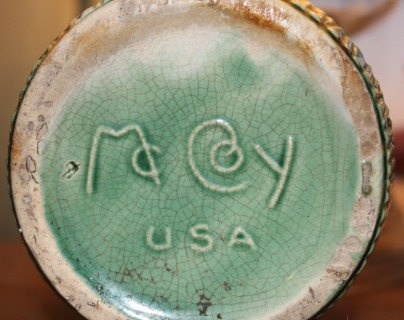 Green Planter: Mccoy Pottery, Collection Mccoy, Real Mccoy