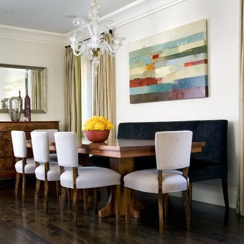 Dining Room Ideas 01 Banquette SeatingDining