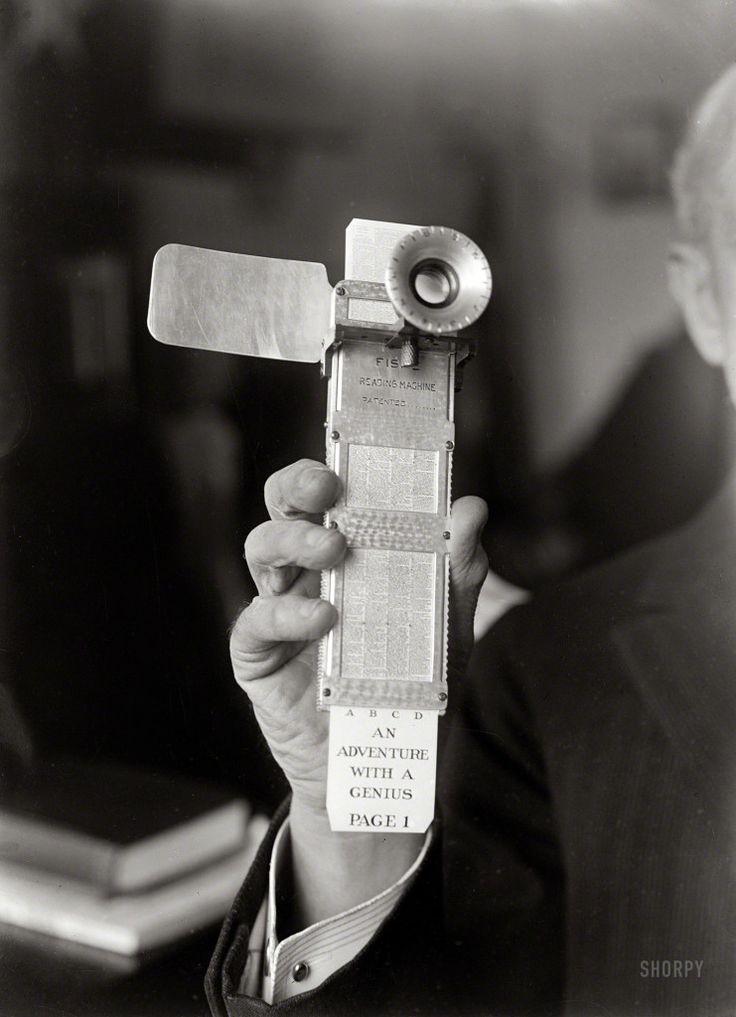 1922 Fiske Reading Machine