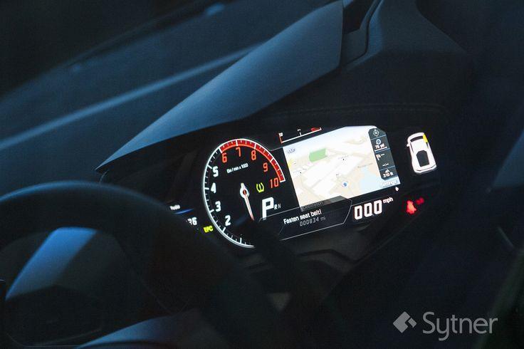 Lamborghini Huracan TFT Instrument Panel