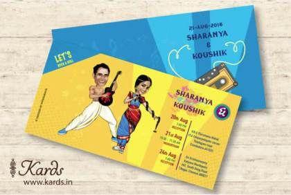 Unique Indian wedding invitation card ideas | Cards.in