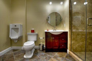 Ashburn Transitional Basement - Bathroom - contemporary - bathroom - dc metro - Synergy Design & Construction