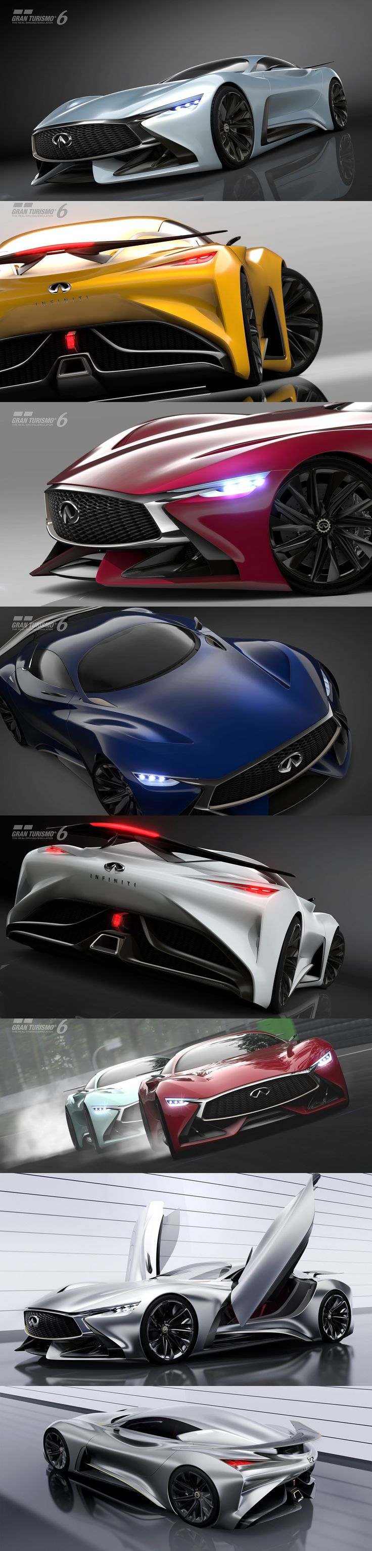 The Infiniti Vision Gran Turismo Concept   The Silver Bullet Of The…