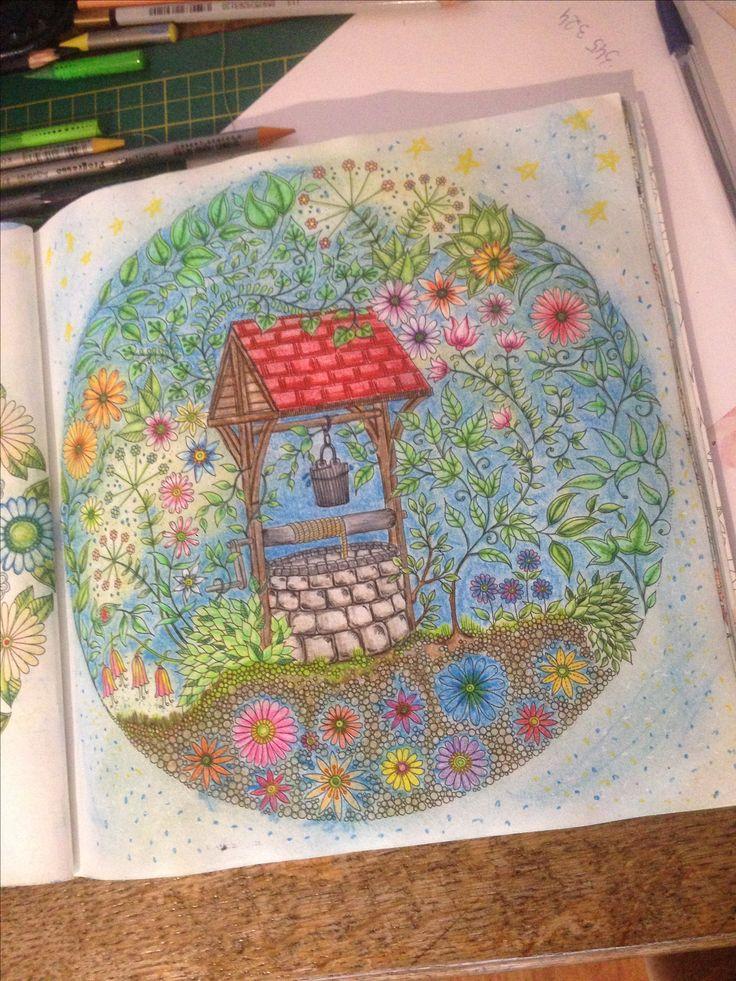 Tajemny ogród Kredki progresso Kredki aquarella  😊