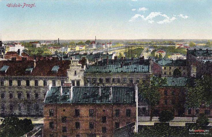 Dzielnica Praga Północ (Praga), Warszawa - 1910 rok, stare zdjęcia