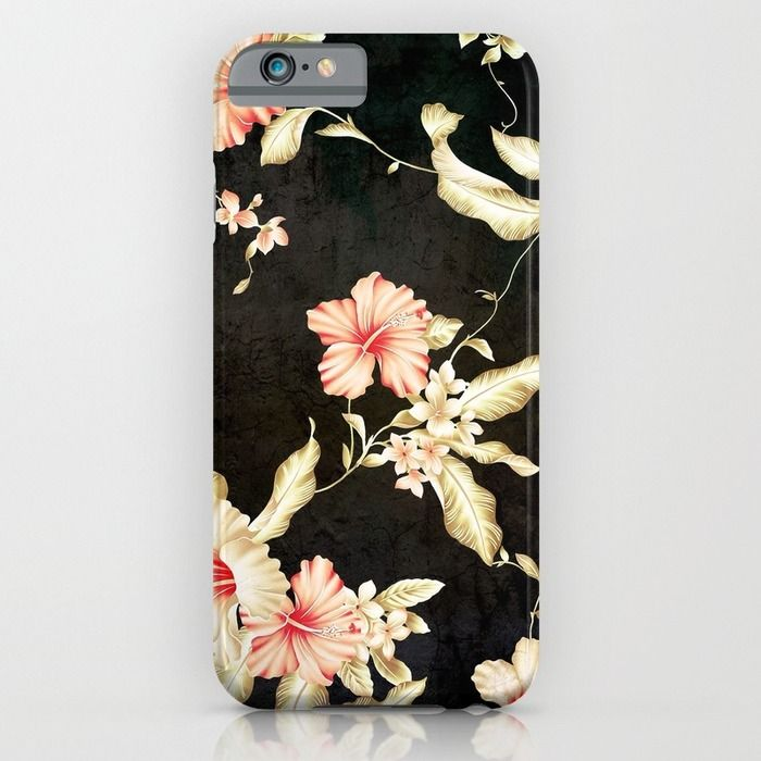 VINTAGE FLOWERS III - for iphone iPhone & iPod Case