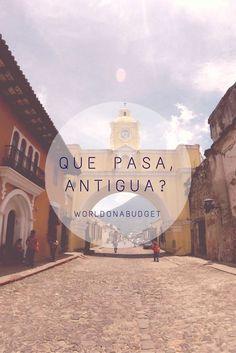 #Antigua in #Guatemala ist die Perle des zentralamerikanischen Landes. Die Stadt ist eingerahmt von teils noch aktiven #Vulkanen und ist in ihrer kolonialen Schönheit kaum zu überbieten. Wir machten uns bei unserer Erkundung auf die Suche nach #Kultur und fanden diese an jeder Ecke! #Reisebericht