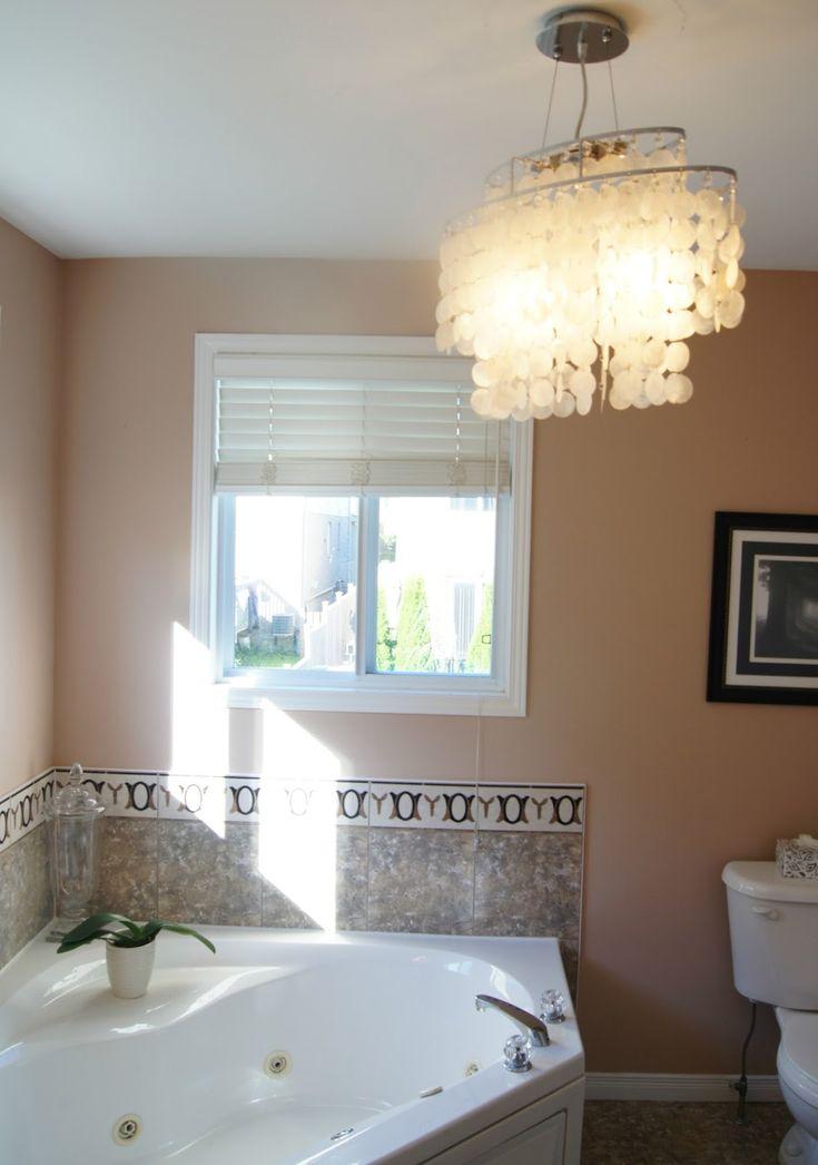 Bathroom. Lovely Bathroom Light Fixtures Ideas With Unique Crystal  Chandelier