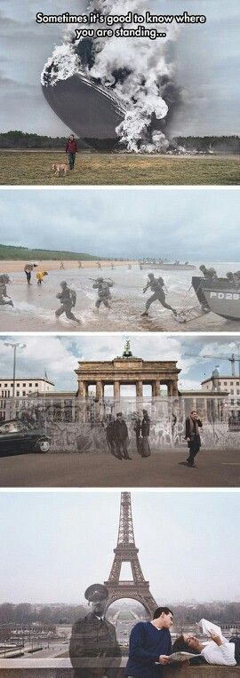 Same places, different times