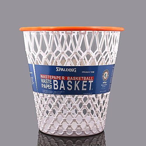 "Basketball Net ""Crunch Time"" NBA Design Wastebasket"