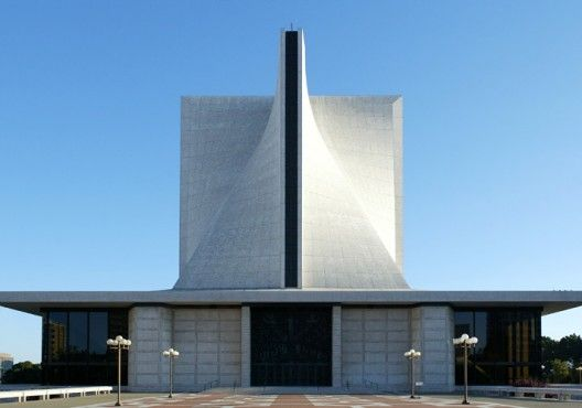 The Cathedral of St. Mary of the Assumption. Pietro Belluschi and Pier-Luigi Nervi.1973. San Francisco, California.