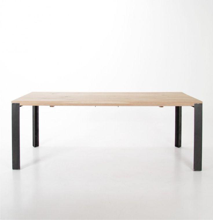STÓŁ ERSMAN WOOD 200X95 - Nowoczesne meble design, włoskie meble do salonu i sypialni, wyposażenie wnętrz
