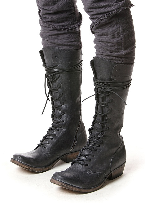 "Boots by Inaisce    Handmade in Italy. InAisce, meaning ""in vain"" in Gaelic is the work ..."