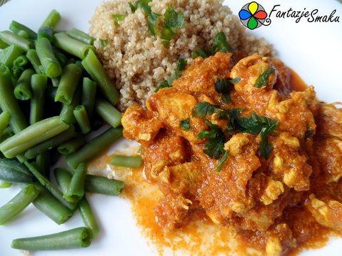 Kurczak Tikka Masala - danie indyjskie http://fantazjesmaku.weebly.com/kurczak-tikka-masala.html