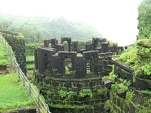 Raigad in Monsoon