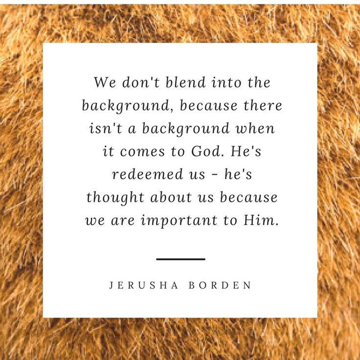 Redeemed, chosen, encouragement for Christians
