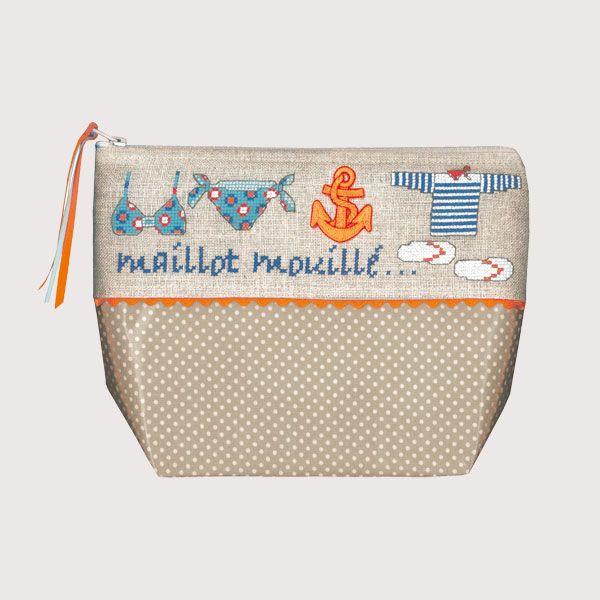 Trousse Maillot Mouillé réf. 9047 Le Bonheur des Dames