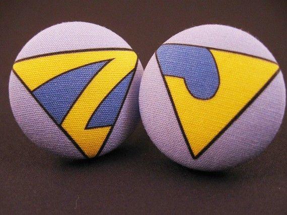 Wonder Twins  Ring Set by DiamondRhino on Etsy