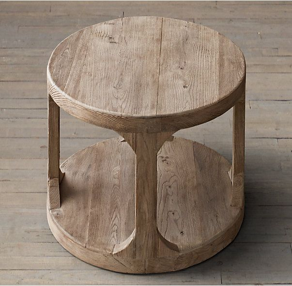"""Martens Round Side Table-- 20"""" r x 26"""" h"""