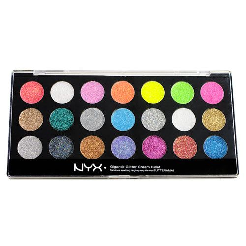 Nyx glitterati pallete. $13 from nyxcosmetics.com. Can also find this on sale at cherry culture http://www.cherryculture.com/cosmetics/makeup/nyx/nyx-glitterati-glitter-cream-palette/17240&cat=0&page=1