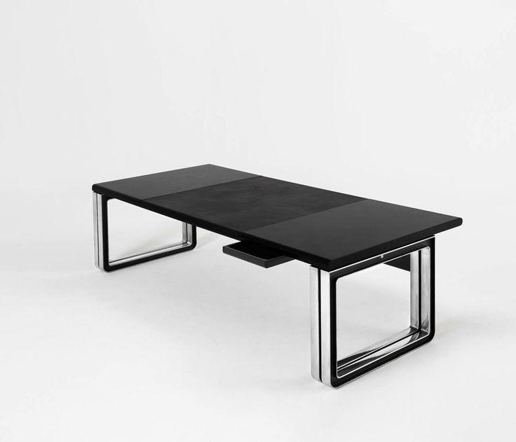 Osvaldo Borsani Executive Desk Set for Tecno, Milan Italy