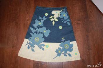 Дизайнерская джинсовая юбка Ted Baker