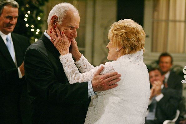 The Young and the Restless Photos: Patrick Murphy and Katherine Chancellor found happiness together later in life. on CBS.com