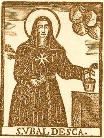 St. Ubaldesca - Virgin of the Order of Malta