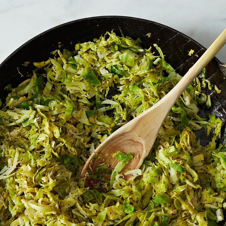 Union Square Café's Hashed Brussels Sprouts with Poppy Seeds and Lemon recipe on Food52