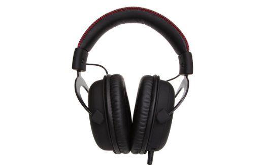 HyperX Cloud Gaming Headset Komfortabel — Ohrpolster aus Memory-Schaumstoff und kunstledergepolsterter Kopfbügel Individuell anpassbar — Austauschbare Ohrpolster in Kunstleder oder Velours für unterschiedliche Soundprofile Kompatibel — mit PCs, Notebooks, Tablets, Handys, Flugzeug-Adaptern und PS4-Konsolen Unverwechselbar — HyperX Design in Rot mit Schwarz oder Weiß mit Schwarz Garantie — zwei Jahre Garantie, kostenloser technischer Support