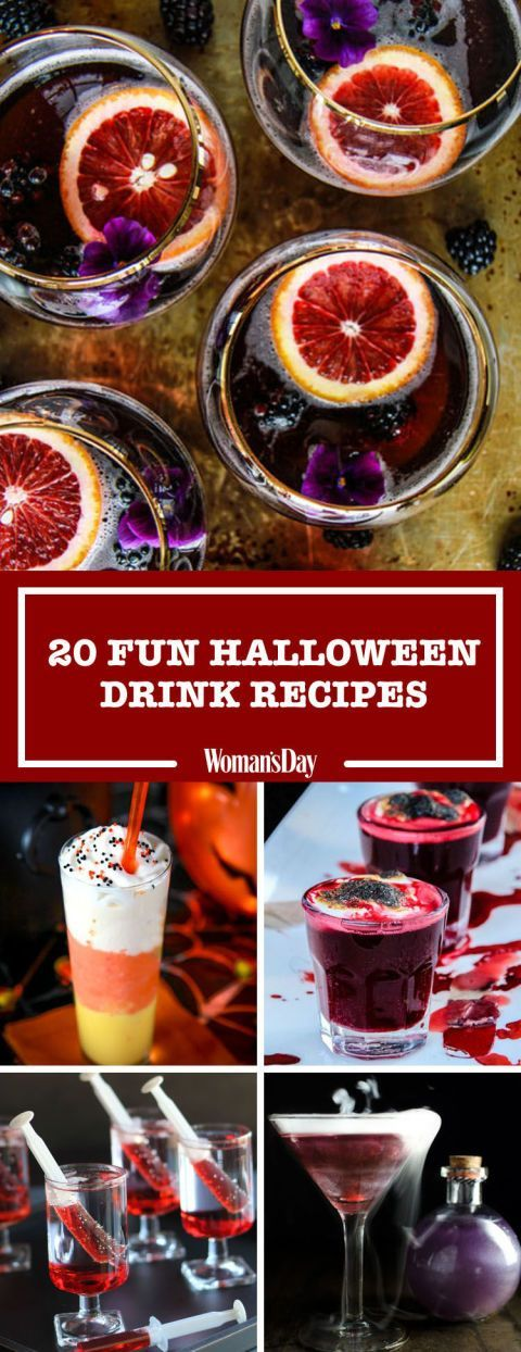 32 Delicious Halloween Drinks to Toast Your Favorite Holiday