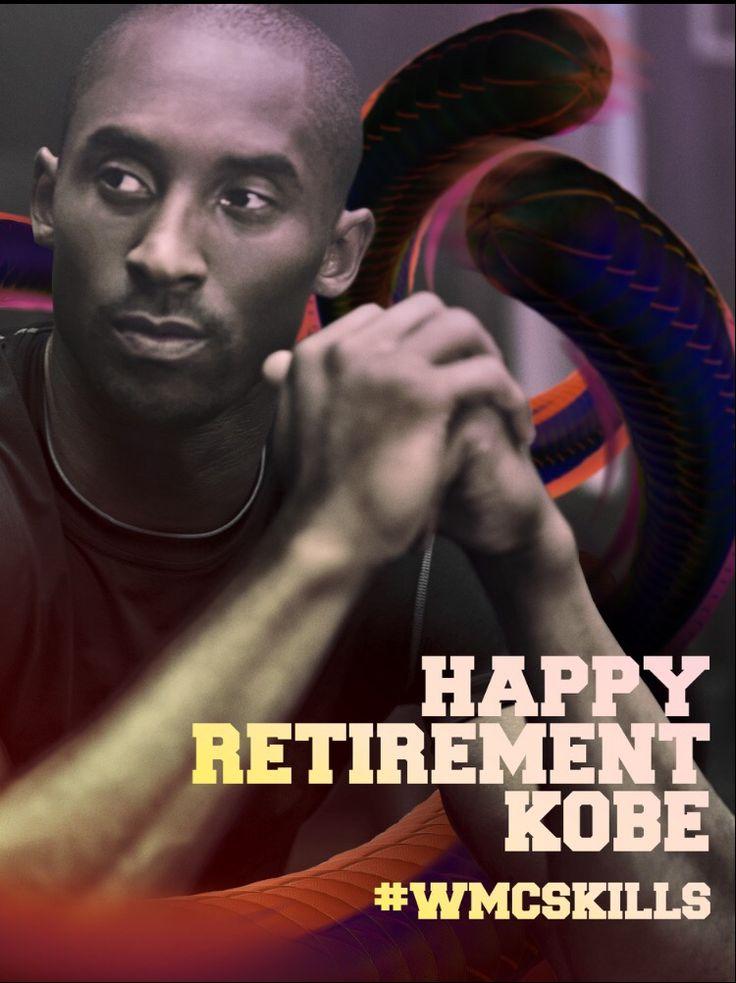 Wmcskills Kobe retirement black mamba