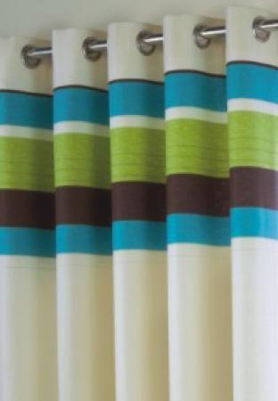 Calvi Teal Eyelet Curtains Harry Corry Limited