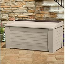 Suncast Deck Box w/Seat and Storage Compartment