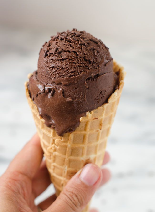 Chocolate Peanut Butter Sorbet