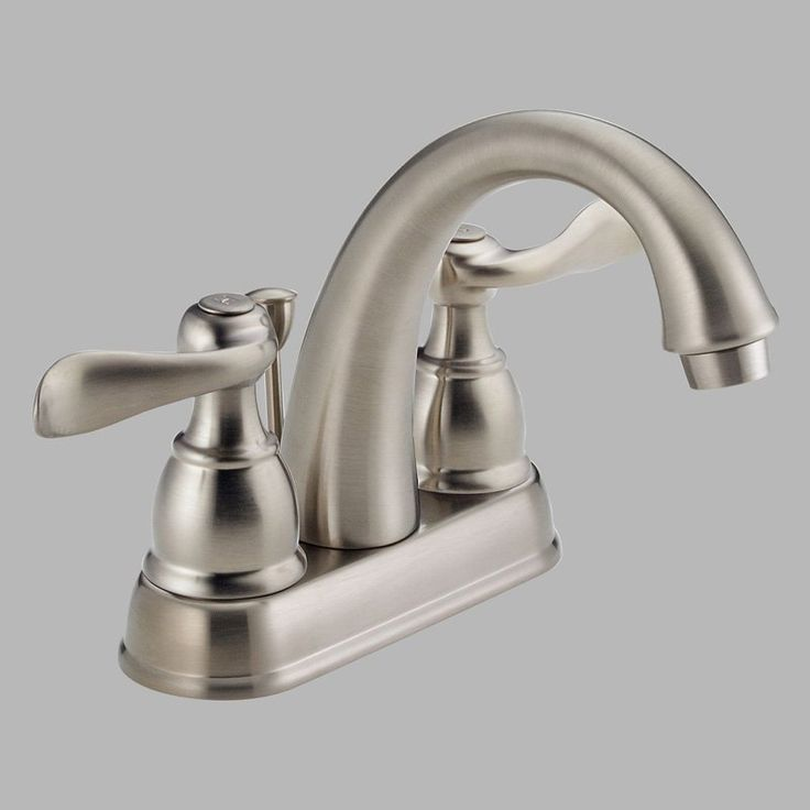 Delta Windemere B2596 Double Handle Centerset Bathroom Sink Faucet - DB2596LF