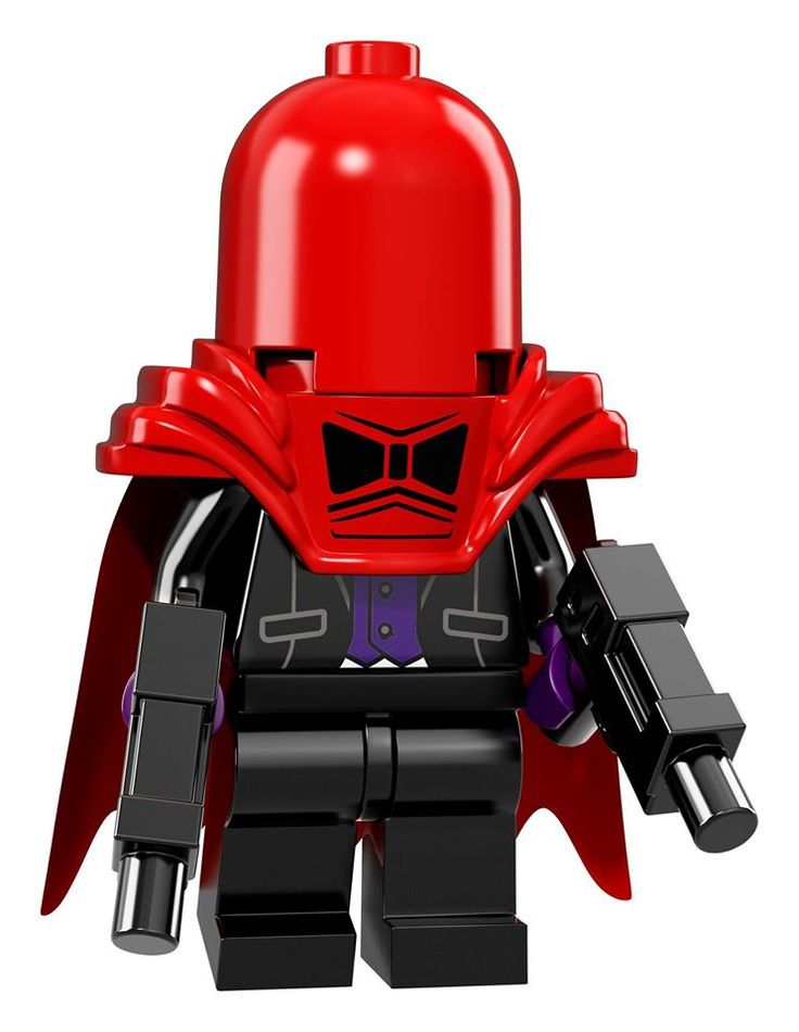 NEW LEGO Minifigure collectable series announced - The LEGO Batman Movie - Red Hood