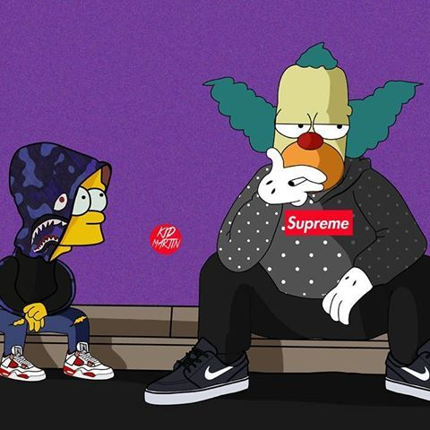 Pin by DaKidChris on SUPREME Bart simpson art, Simpsons
